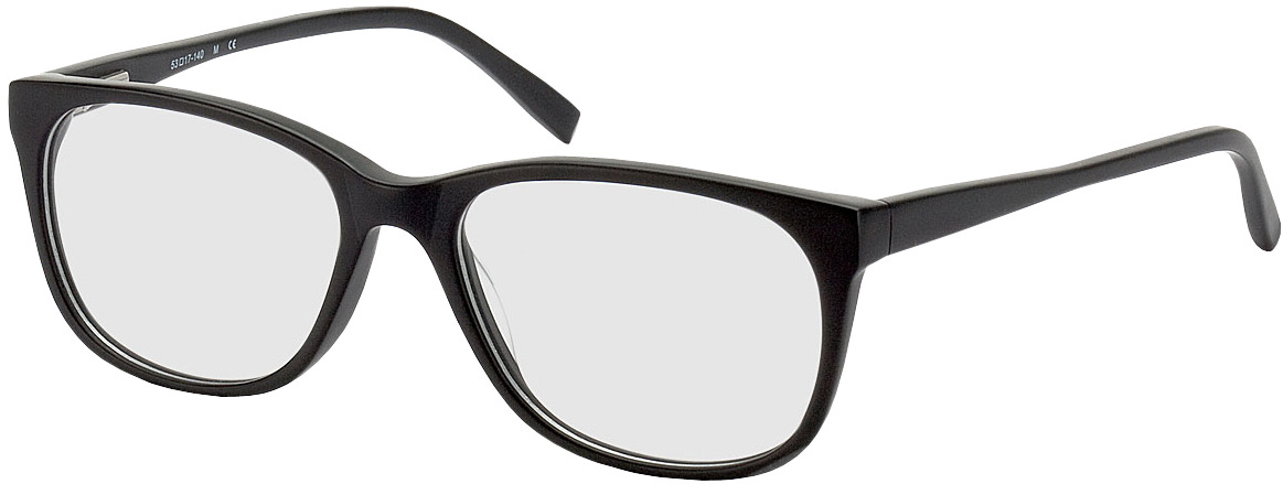 Picture of glasses model Narvik-schwarz in angle 330