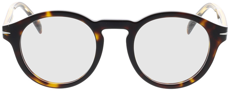 Picture of glasses model David Beckham DB 7010 086 46-22 in angle 0