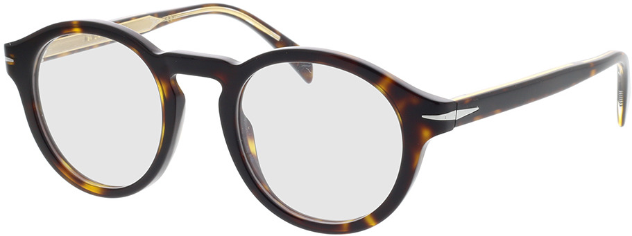 Picture of glasses model David Beckham DB 7010 086 46-22 in angle 330