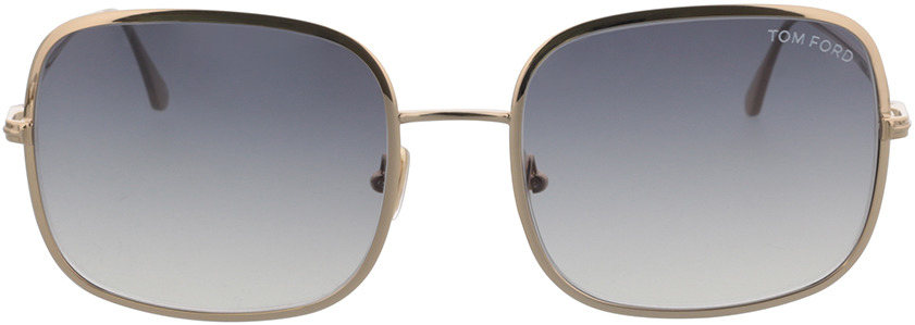 Picture of glasses model Tom Ford FT0865 28B 58-20 in angle 0