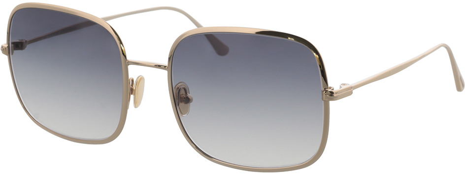 Picture of glasses model Tom Ford FT0865 28B 58-20 in angle 330