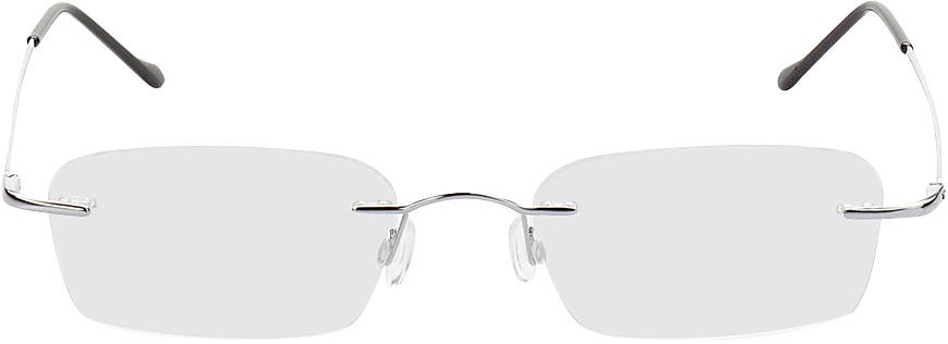 Picture of glasses model Bendigo-silber in angle 0
