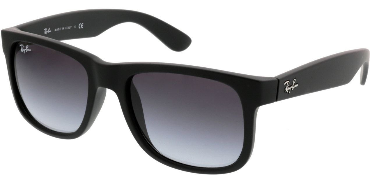 Picture of glasses model Ray-Ban Justin RB4165 601/8G 51-16 in angle 330