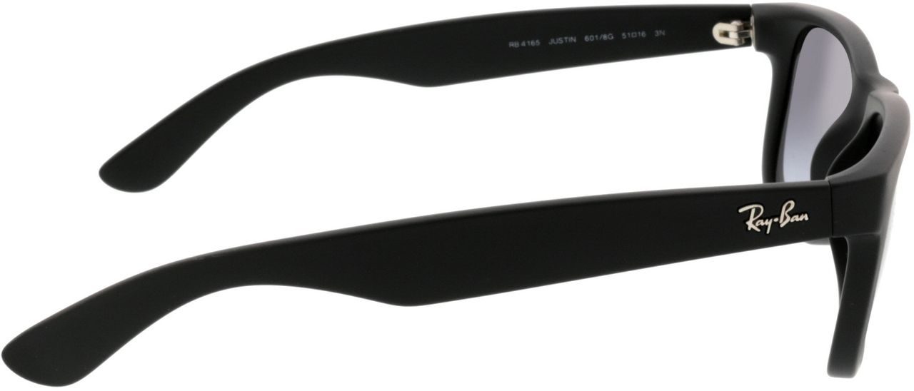Picture of glasses model Ray-Ban Justin RB4165 601/8G 51-16 in angle 90