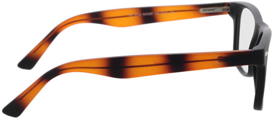 Picture of glasses model Salemi-schwarz in angle 90