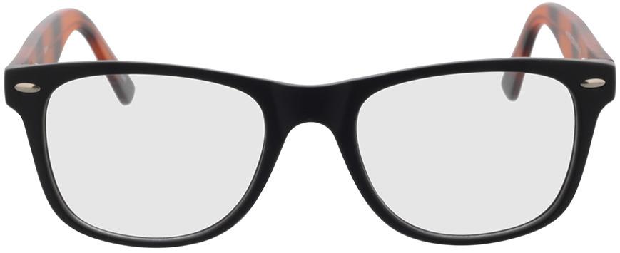 Picture of glasses model Salemi-schwarz in angle 0