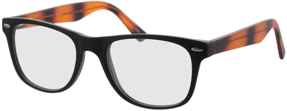 Picture of glasses model Salemi-schwarz in angle 330