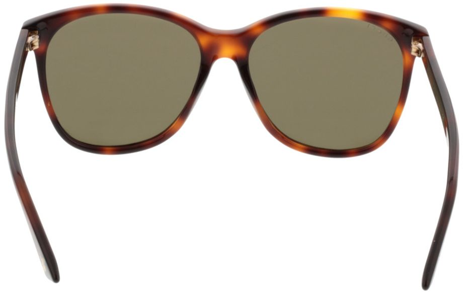 Picture of glasses model Gucci GG0024S-002 58-16 in angle 180