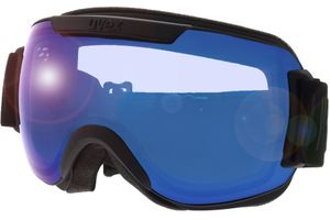 Skibrille Downhill 2000 FM Black Matt/Mirror Blue