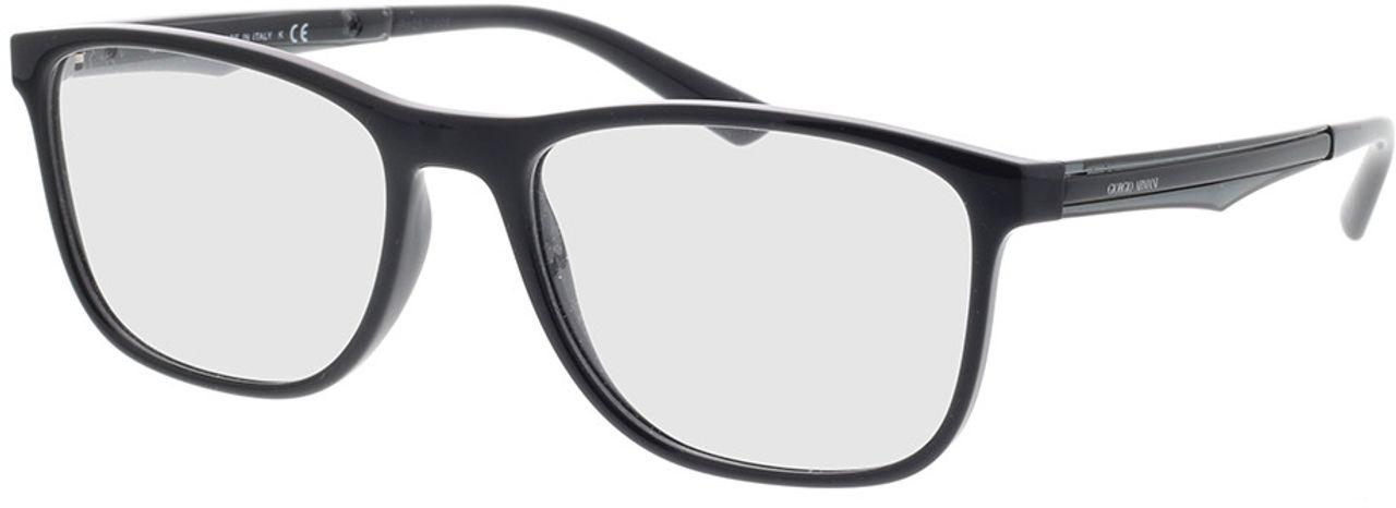 Picture of glasses model Giorgio Armani AR7187 5001 55-18 in angle 330