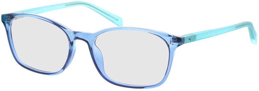 Picture of glasses model Puma PJ0031O-006 49-16 in angle 330
