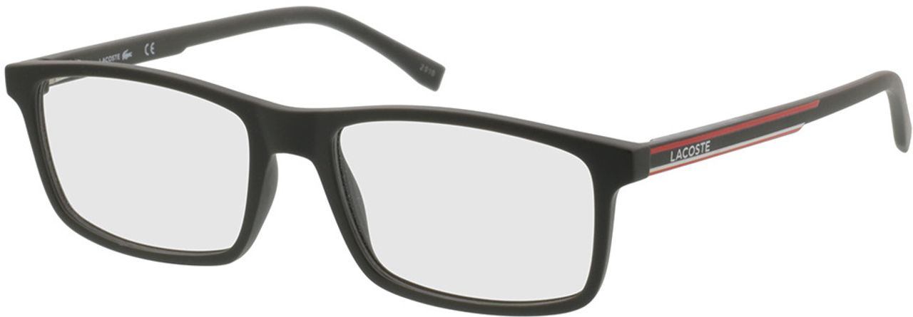 Picture of glasses model Lacoste L2858 317 54-17 in angle 330