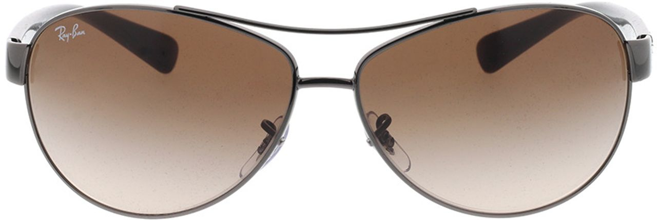 Picture of glasses model Ray-Ban RB3386 004/13 63-13 in angle 0