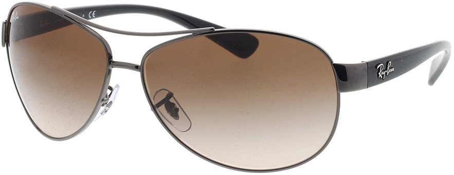 Picture of glasses model Ray-Ban RB 3386 004/13 63-13 in angle 330
