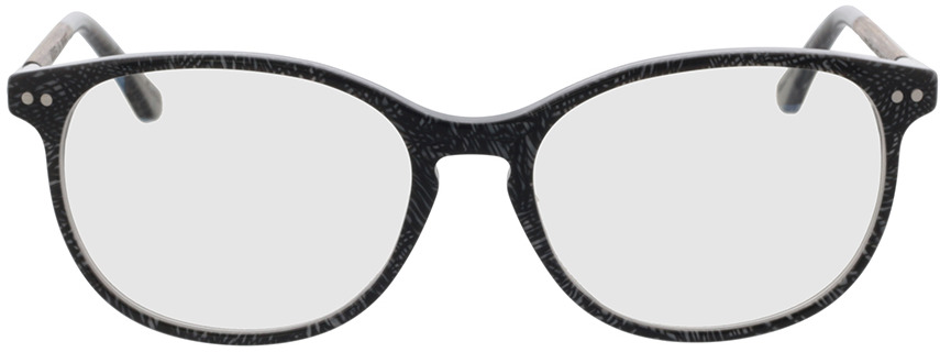 Picture of glasses model Wood Fellas Optical Prospect curled/grey 54-17 in angle 0