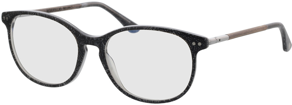 Picture of glasses model Wood Fellas Optical Prospect curled/grey 54-17 in angle 330