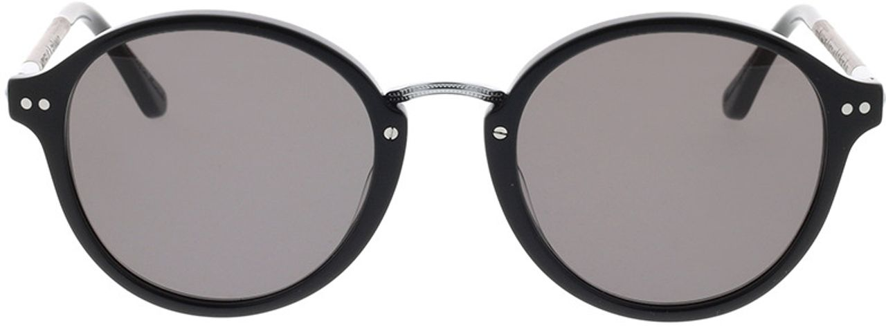Picture of glasses model Wood Fellas Sunglasses Grünwald curled/black 50-21 in angle 0