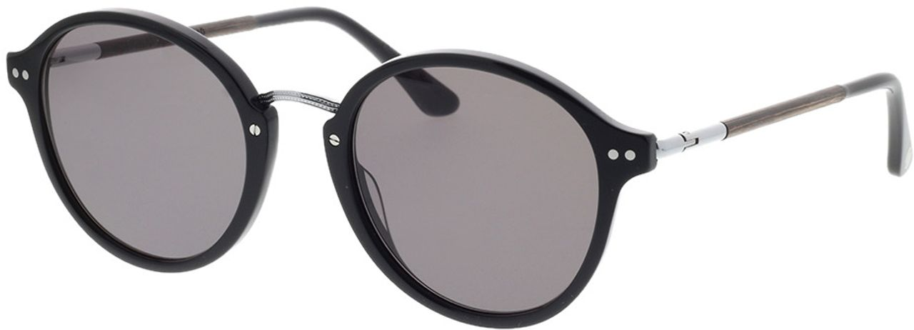Picture of glasses model Wood Fellas Sunglasses Grünwald curled/black 50-21 in angle 330