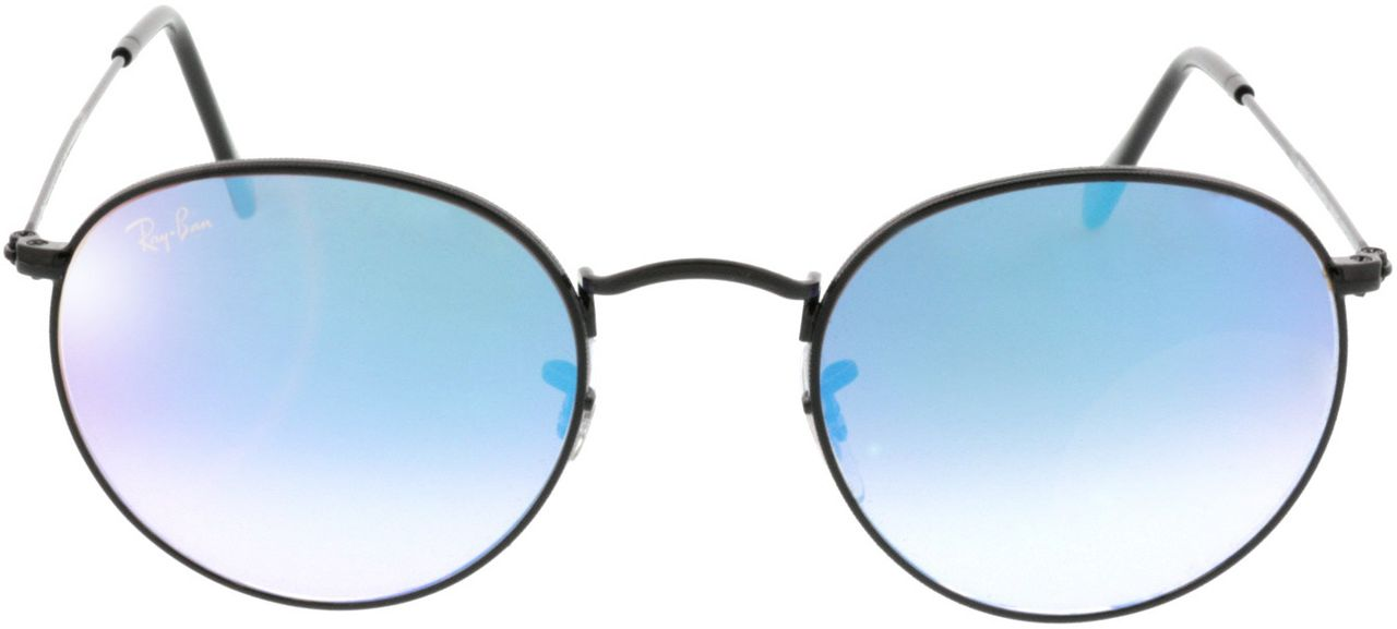Picture of glasses model Ray-Ban Round Metal RB3447 002/4O 50-21 in angle 0