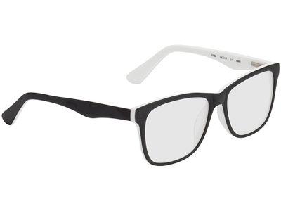 Brille Saint-Denis-schwarz/weiß
