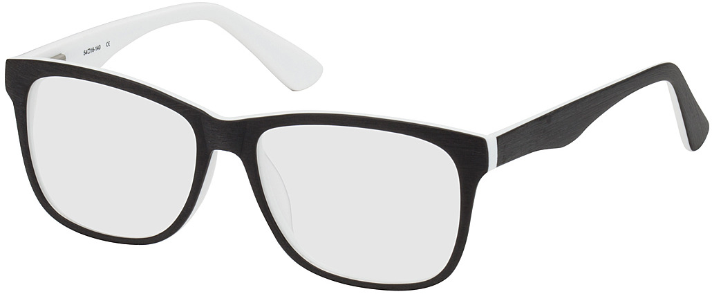 Picture of glasses model Saint-Denis-schwarz/weiß in angle 330