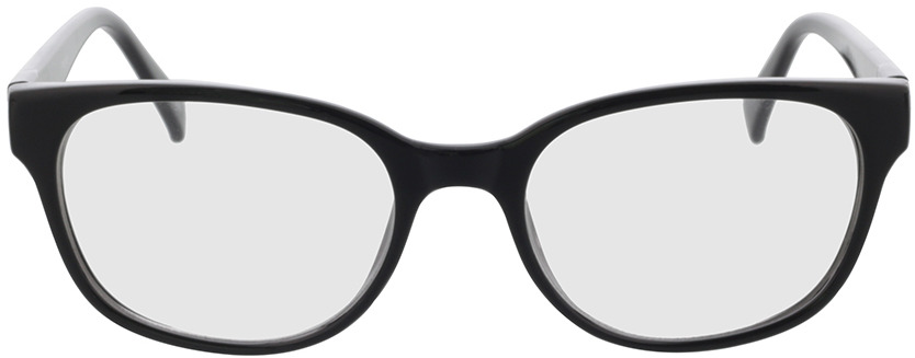 Picture of glasses model Frances-schwarz in angle 0
