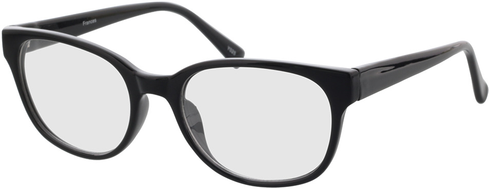 Picture of glasses model Frances-schwarz in angle 330