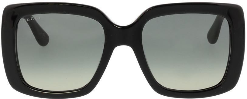 Picture of glasses model Gucci GG0141S 001 53-20 in angle 0