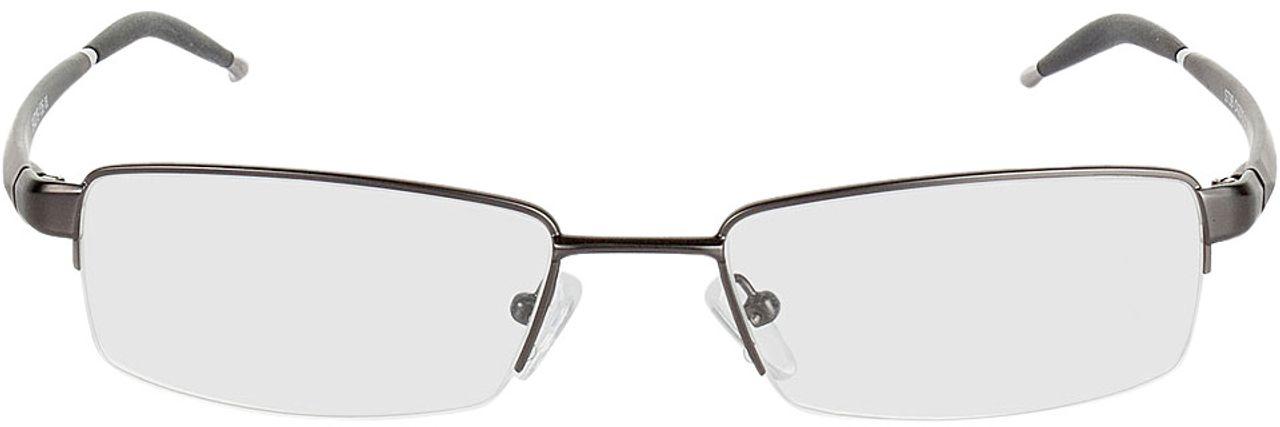 Picture of glasses model Brasilia gun/black in angle 0