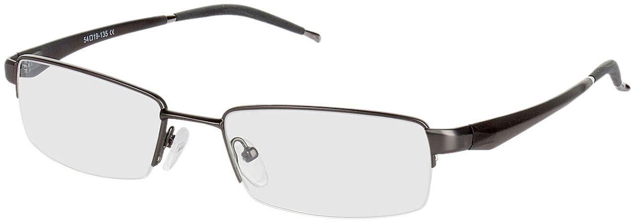 Picture of glasses model Brasilia-gun-black in angle 330