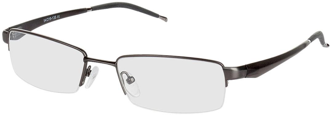 Picture of glasses model Brasilia gun/black in angle 330