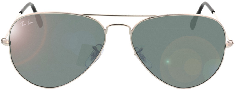 Picture of glasses model Ray-Ban Aviator RB3025 W3277 58-14 in angle 0