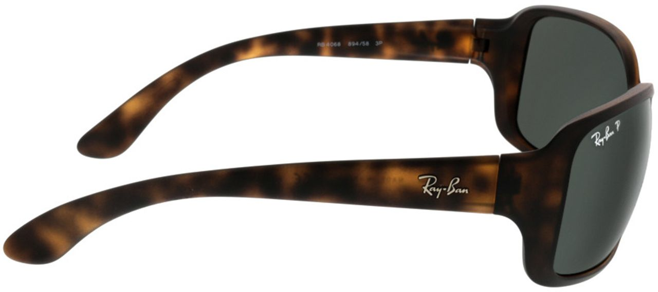 Picture of glasses model Ray-Ban RB4068 894/58 60-17 in angle 90