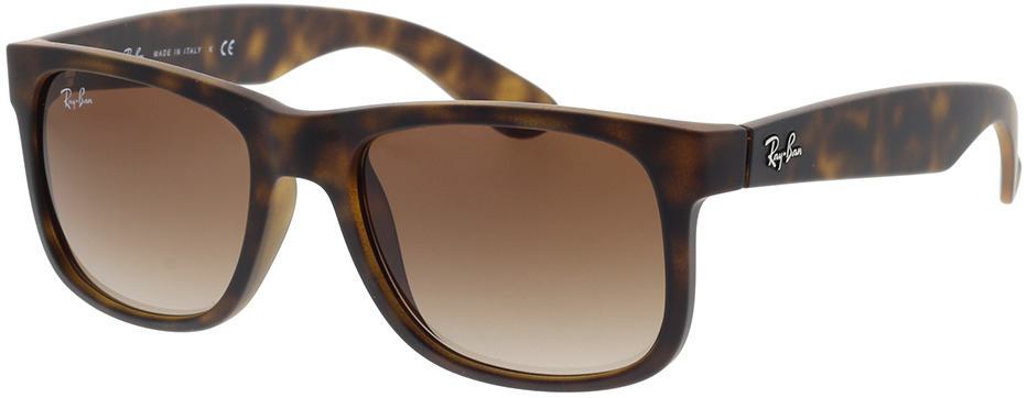 Picture of glasses model Ray-Ban Justin RB4165 710/13 51-16