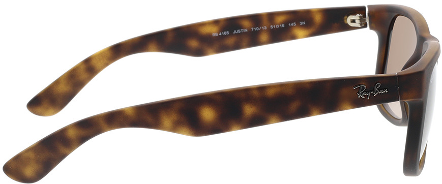 Picture of glasses model Ray-Ban Justin RB 4165 710/13 51-16 in angle 90