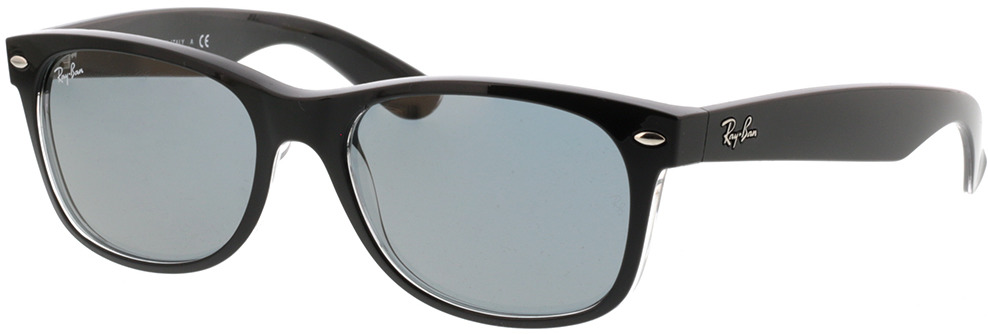 Picture of glasses model Ray-Ban New Wayfarer RB2132 6398Y5 55-18