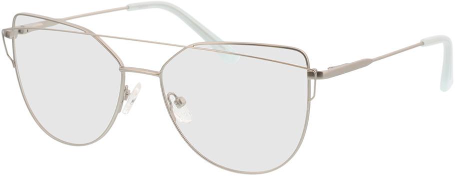 Picture of glasses model Calida-matt silber in angle 330