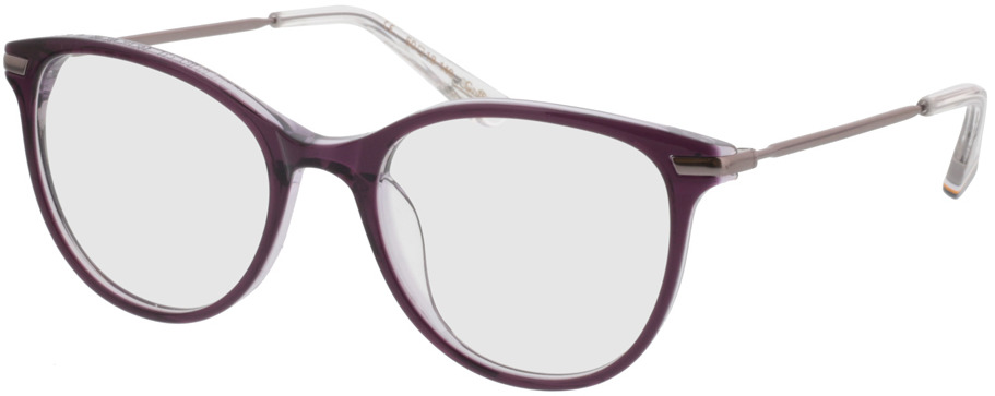 Picture of glasses model Superdry SDO Shika 161 lila 50-18 in angle 330