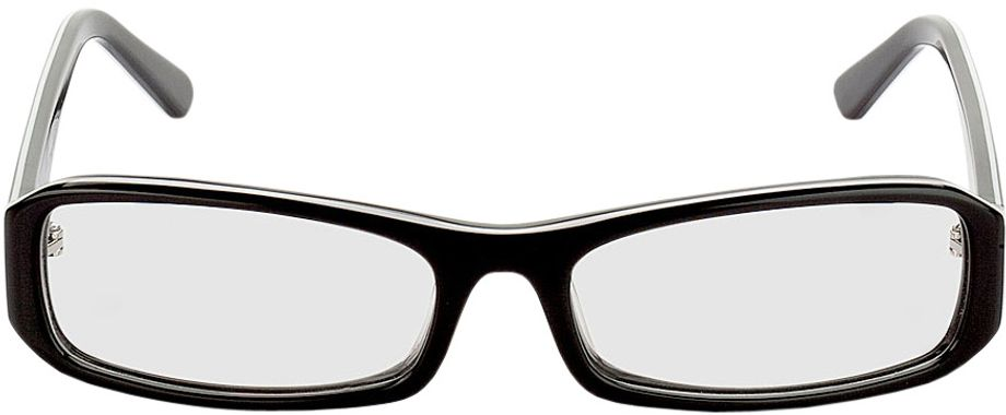 Picture of glasses model Girona-black-white in angle 0
