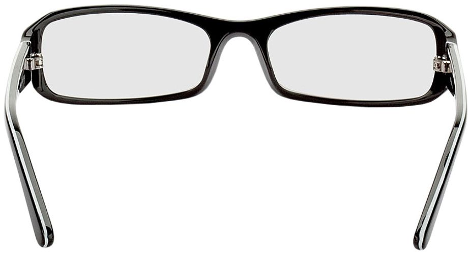 Picture of glasses model Girona-black-white in angle 180