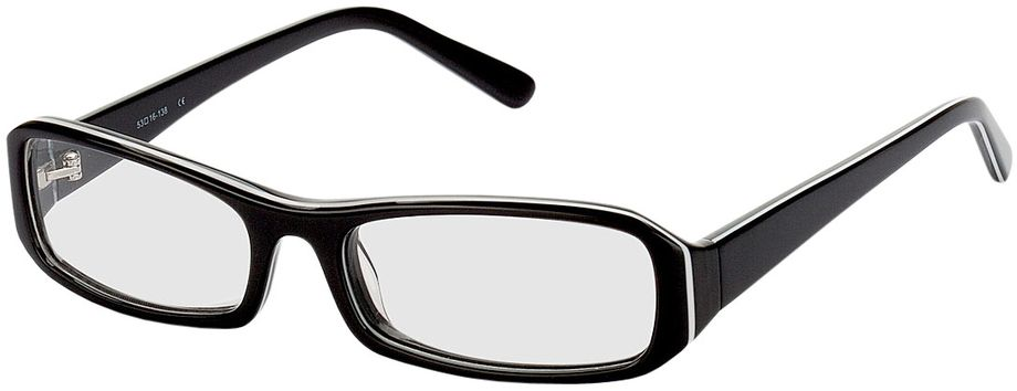 Picture of glasses model Girona-black-white in angle 330