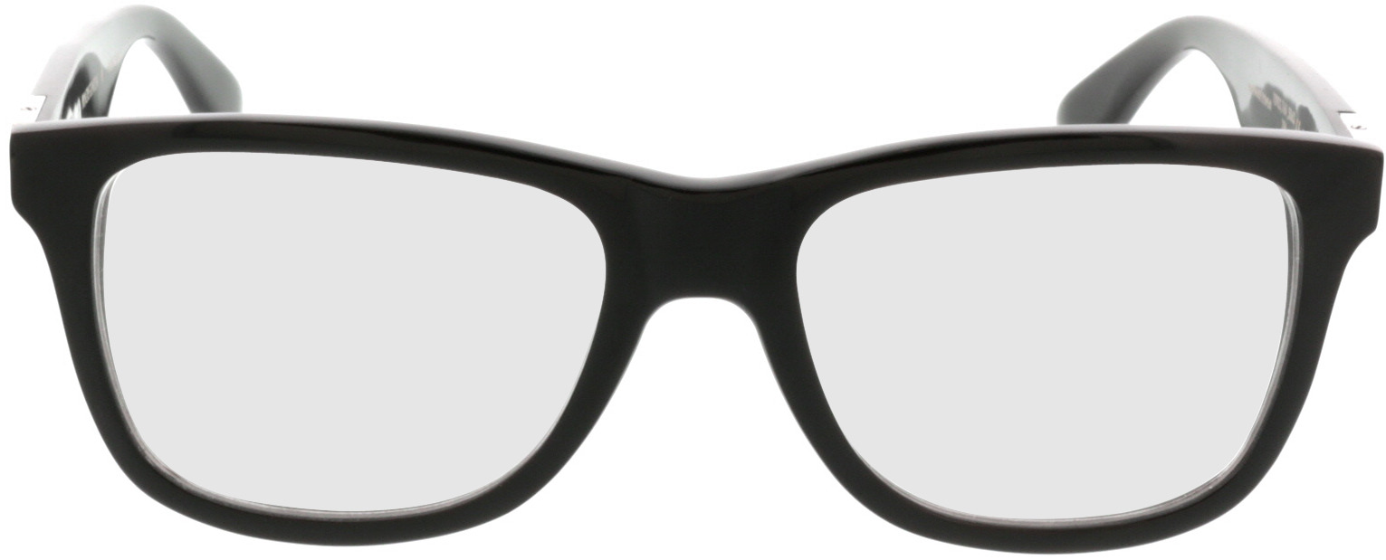 Picture of glasses model Wood Fellas Optical Prinzregenten dark brown 53-18 in angle 0