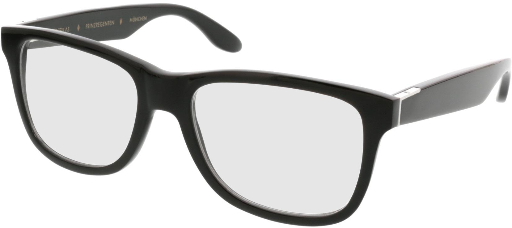 Picture of glasses model Wood Fellas Optical Prinzregenten dark brown 53-18 in angle 330