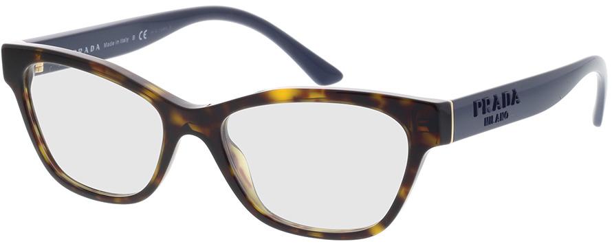 Picture of glasses model Prada PR 03WV 2AU1O1 51-16 in angle 330