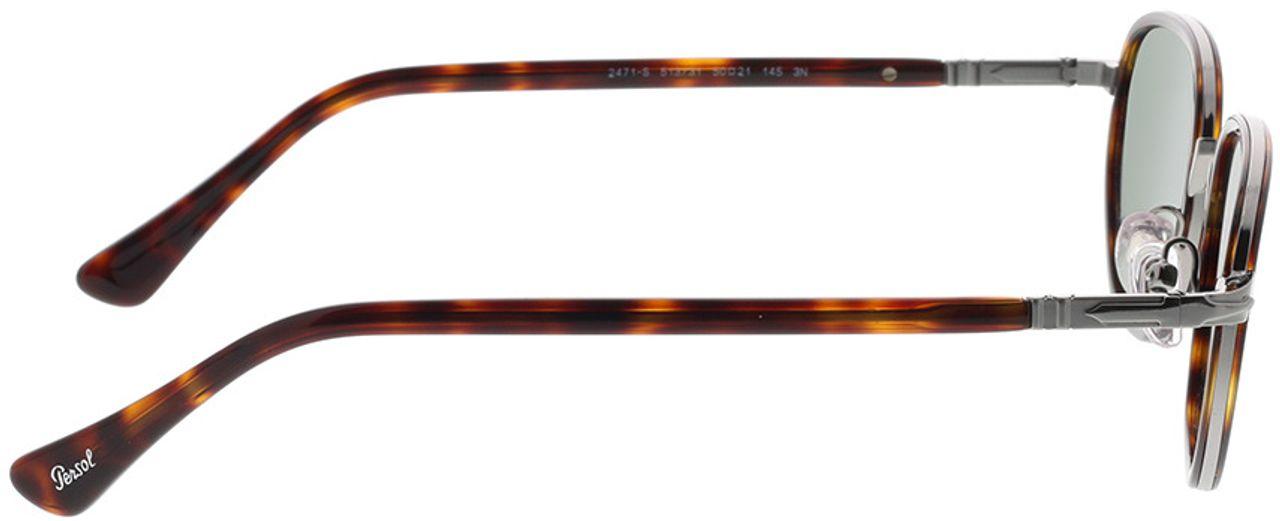 Picture of glasses model Persol PO2471S 513/31 50-21 in angle 90