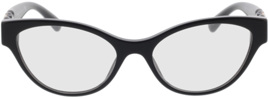 Picture of glasses model Versace VE3305 GB1 53-17 in angle 0