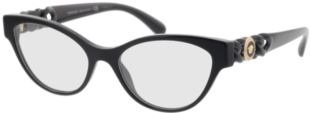 Picture of glasses model Versace VE3305 GB1 53-17 in angle 330