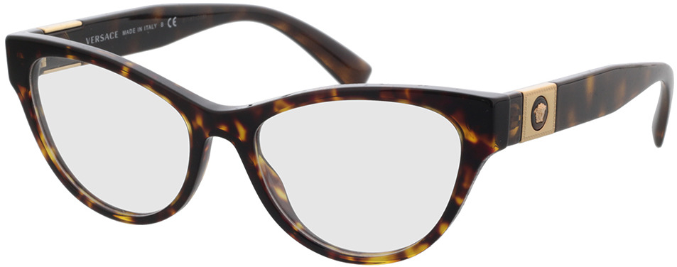 Picture of glasses model Versace VE3296 108 54-17 in angle 330