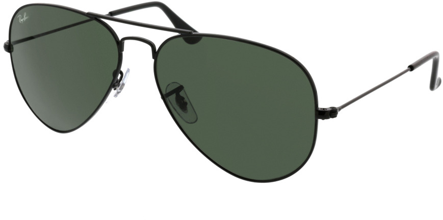 Picture of glasses model Ray-Ban Aviator RB3025 L2823 58-14 in angle 330
