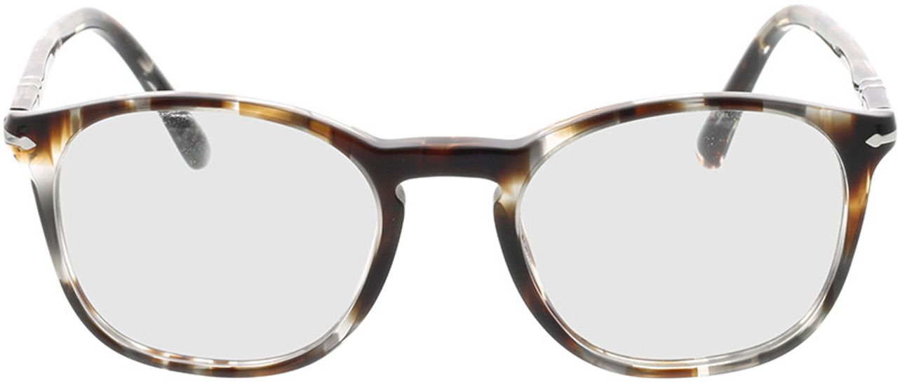 Picture of glasses model Persol PO3007VM 1124 50-19 in angle 0